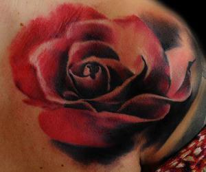amazing, rose tattoo, and awesome image