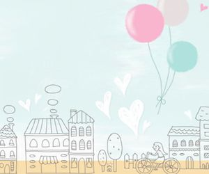sweet, wallpaper, and balloons image