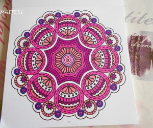 art, colorful, and mandala image