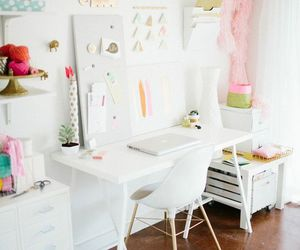 decor, white, and girly image