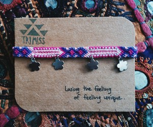 accessories, bohemian, and bracelet image