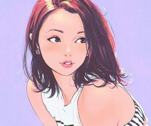 art, girl, and anime image