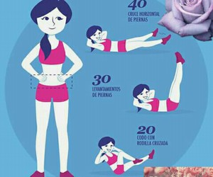exercise, abdomen, and dieta image