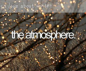 winter, atmosphere, and christmas image