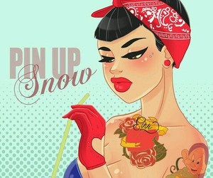 disney, Pin Up, and snow white image