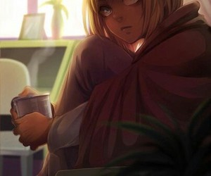 attack on titan, armin, and snk image