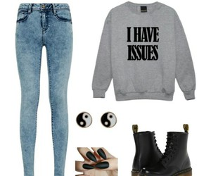 grunge, outfit, and clothes image