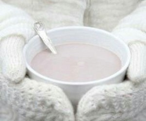 winter, hot ​chocolate, and white image