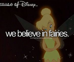 disney, fairy, and because of disney image