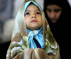 islam, girl, and hijab image
