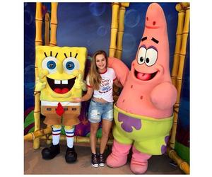 patrick star, spongebob squarepants, and brec bassinger image