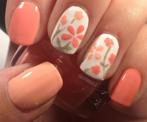 flowers, holiday, and manicure image