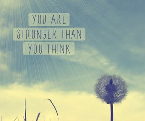 strong, quotes, and sun image