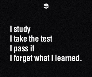 study, school, and test image
