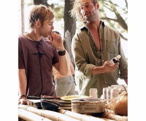 Dominic Monaghan, james ford, and Josh Holloway image