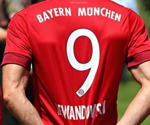 football, bayern munich, and robert lewandowski image