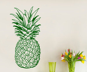 food, kitchen decor, and pineapple image