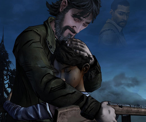 clementine, game, and kenny image
