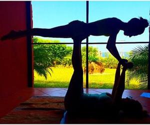 best friends, acrobatics, and nadia mejia image