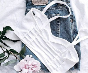 clothes, tops, and summer clothes image