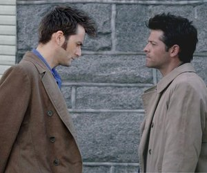 actors, david tennant, and supernatural image