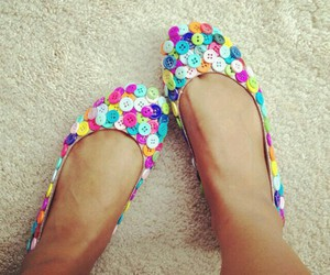 shoes and buttons image