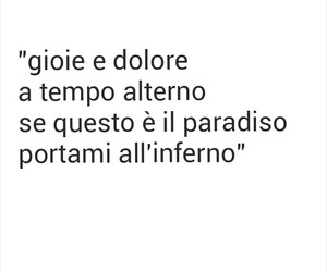 ciao, dolore, and frasi image
