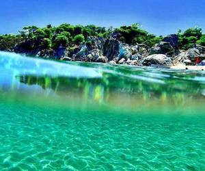 beach, exotic, and beautiful image