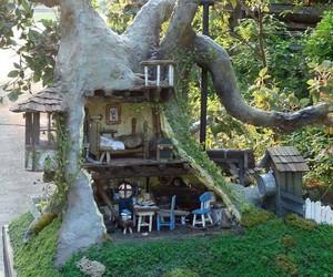 fairy, fairy house, and pintrest image
