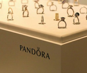 rings, pandora, and luxury image