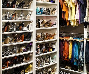 shoes, closet, and fergie image