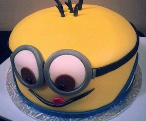 minions and cake image