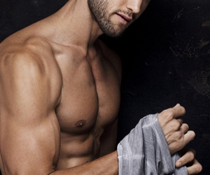 beard, muscles, and perfection image