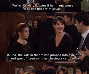 how i met your mother, Mary Poppins, and robin image