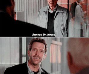 gregory house, hugh laurie, and house m.d image