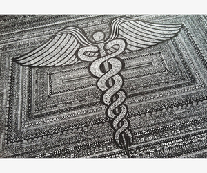 doodle and medicine image