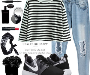 black, Polyvore, and simple image
