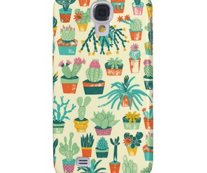 cactus, pattern, and case image