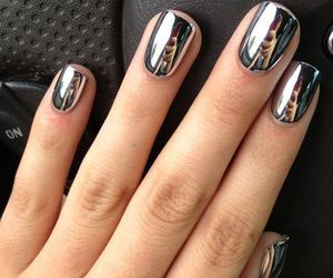 chic, nail art, and nails image