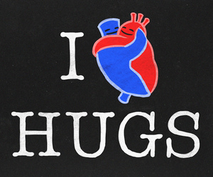 hugs, love, and heart image