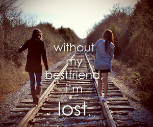 quote, friendship, and bestfriend image