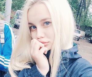 white hair and lenyhkaa image