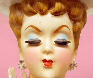 doll, kitsch, and vintage image