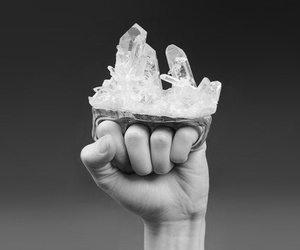 crystal, ring, and brass knuckles image