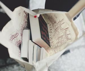 book, bag, and read image