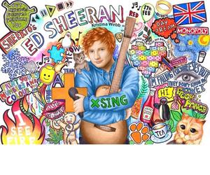 draw, ed sheeran, and instagram image