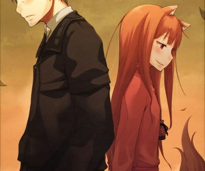 anime and spice and wolf image