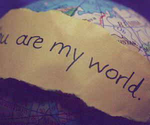 love, world, and you image