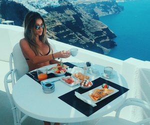food, girl, and bikini image