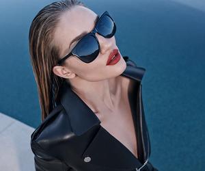 model, sunglasses, and beauty image